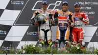 MotoGP: Marquez wins big with tyre gamble at wet Sachsenring