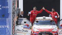 Rally: Gruelling weekend for Junior Abu Dhabi Racing driver Al Mutawaa at Rally Finland