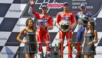 MotoGP: Spectacular double podium for Ducati as Iannone takes the win in Austria
