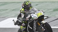 MotoGP: Crutchlow takes stunning Silverstone pole as Marquez crashes out