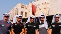 WSBK:  WorldSBK riders take a tour through traditional Doha ahead of this weekends finale