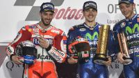 MotoGP: Viñales reigns in tough desert dual at opening race of 2017 in Qatar