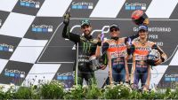 MotoGP: Marquez takes eighth successive win at the Sachsenring under pressure from a stunning rookie ride by home hero Folger