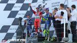 MotoGP: Championship drama in the British GP as Marquez retires and 'DesmoDovi' wins