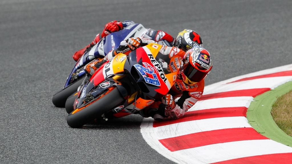MotoGP: Stoner cruises to Catalunya GP win