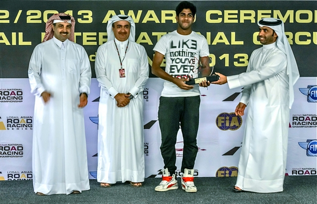 Dubai: Rookie of the year award goes to the Dubai based Indian flyer – Surya Raja