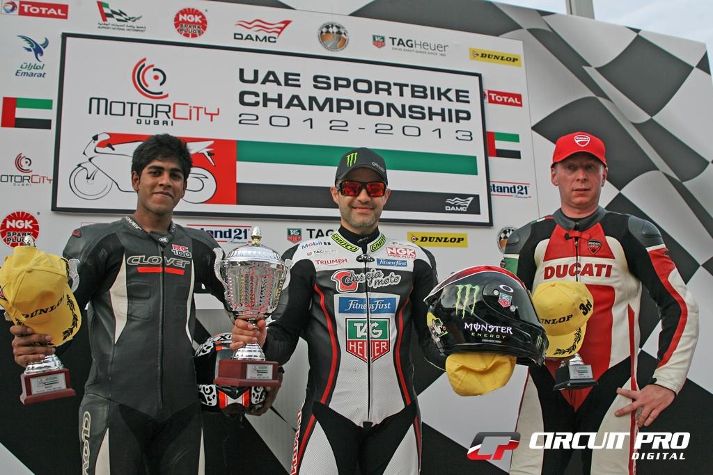 UAE Dubai Motorsports Festival: Fantastic finale to the 2012 season at Dubai Autodrome