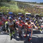 MotoGP: Dovizioso plays it to perfection at Misano as Lorenzo crashes out