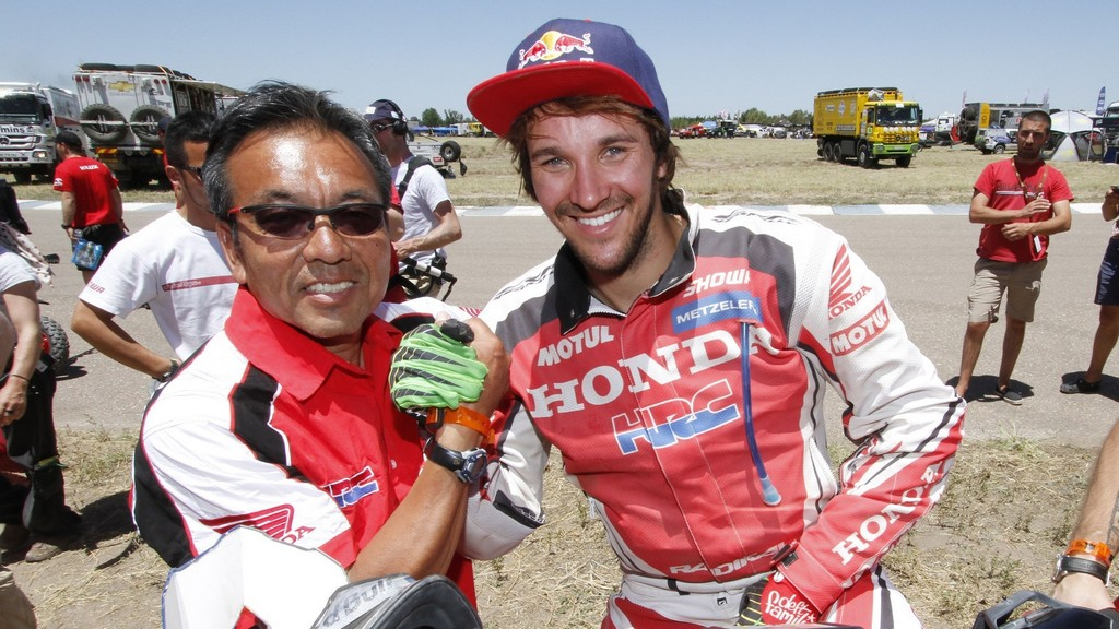 Dakar Bikes: Sam Sunderland gets his first victory in the Dakar as Barreda still tops of leader-board
