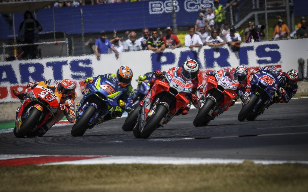 MotoGP: Marquez wins a true clash of the titans at the 'Cathedral'