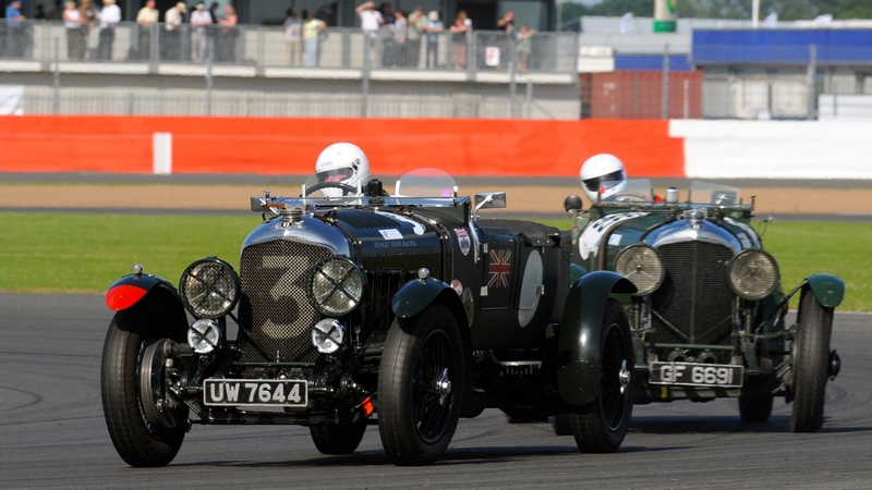 Classic: Silverstone Classic 'Kidston Trophy' attracts massive grid of Pre-War Sports Cars
