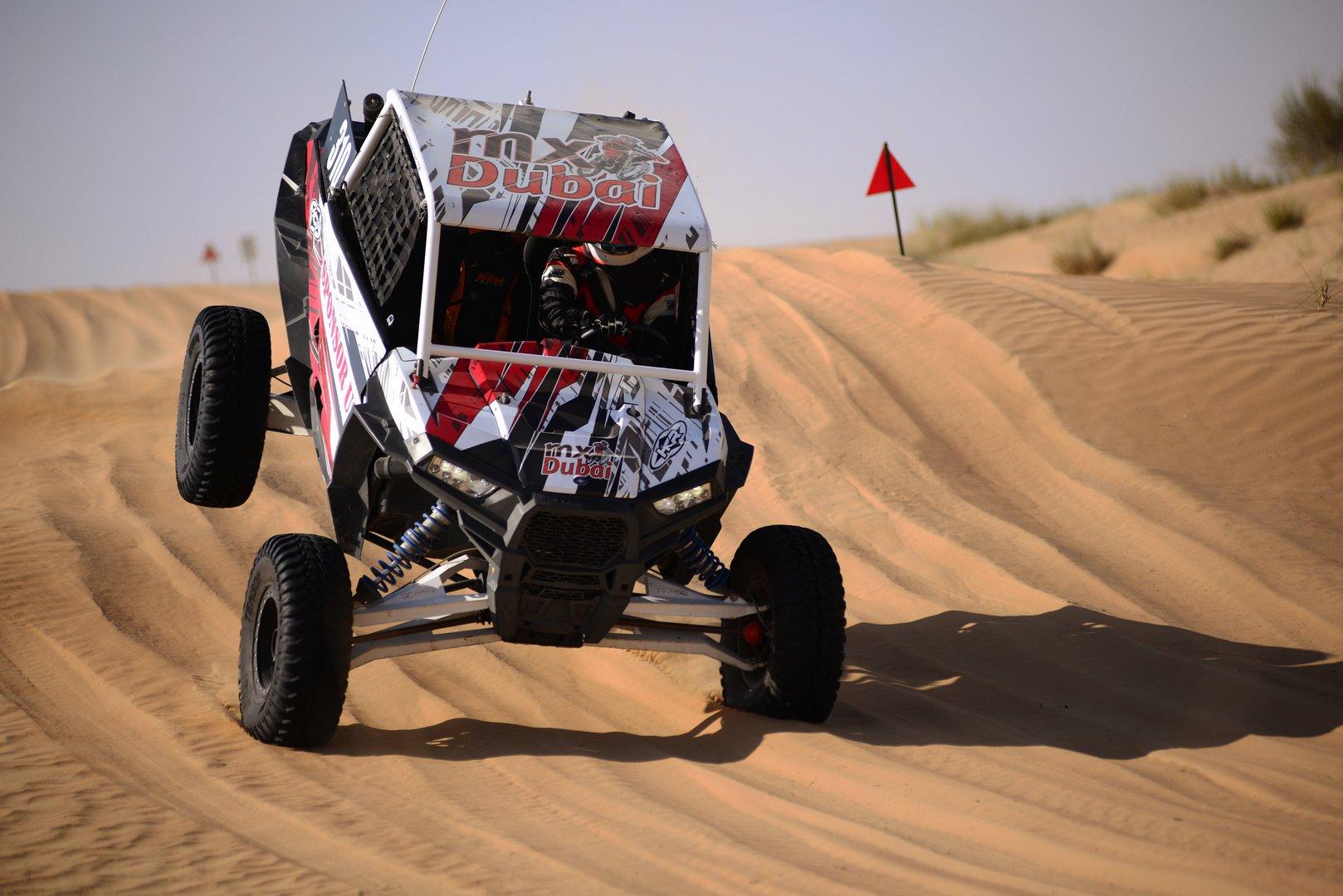 Dubai Emirates Desert Championship Report From Round 2 In