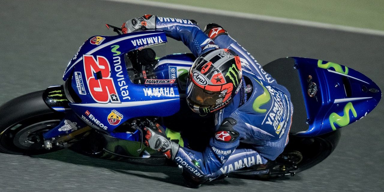 MotoGP: Movistar Yamaha rider heads the timesheets for the fourth test in a row in Qatar