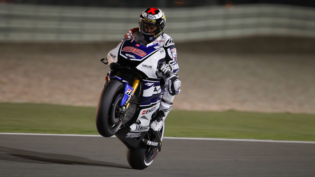 MotoGP: Jorge Lorenzo edges thrilling battle for Qatar pole