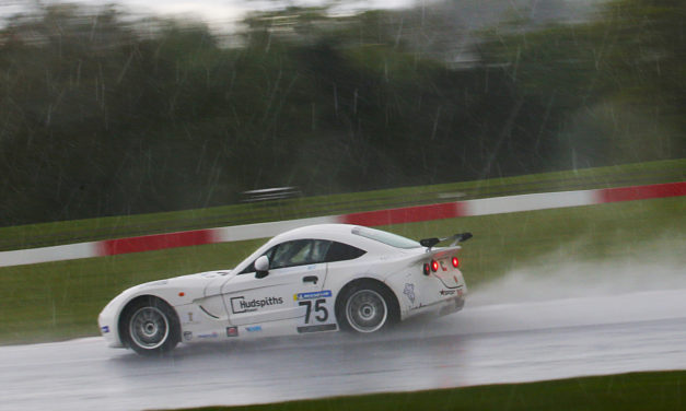 UK: Personal best Top-Ten finish for young Kuwait driver Haytham Qarajouli at wet Donington round