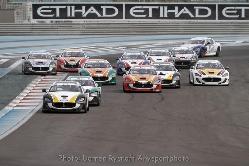 Ghanem crowned Champion in sensational finale for Maserati Trofeo JBF RAK at Yas Marina Circuit