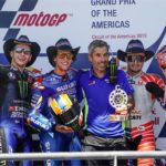 MotoGP: Rins fights off Rossi for first win as Marquez suffers shock crash at COTA