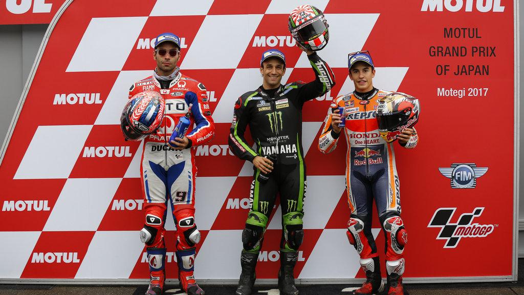 MotoGP: Zarco takes shock pole in damp Japanese GP qualifying