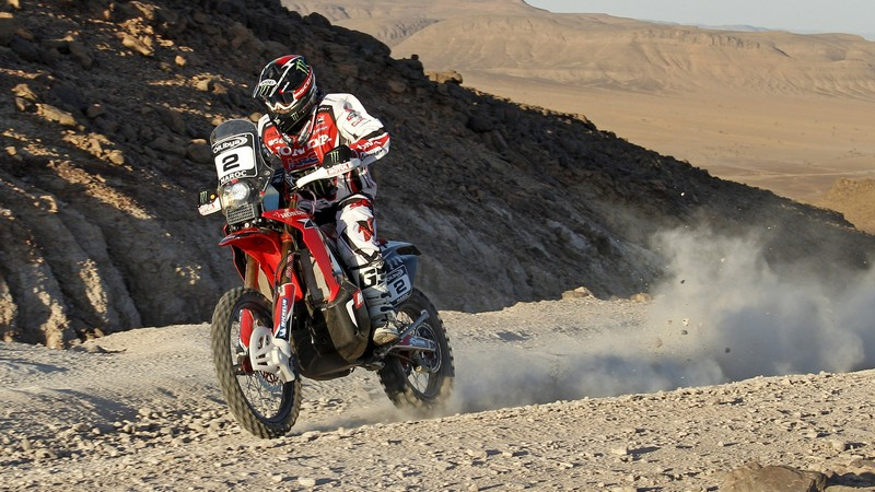 Rally: Team HRC lead Rally of Morocco in final of FIM Cross-Country Rallies World Championship