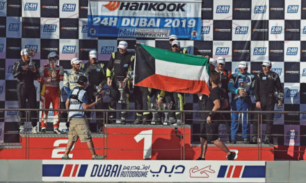 24H: Kuwait racing driver Khaled Al Mudhaf takes a second impressive career victory at Dubai 24H with Leipert Motorsports Lamborghini