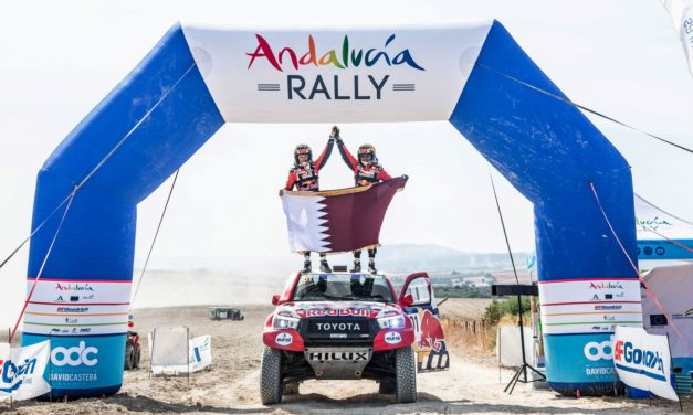 Rally: Benavides and Al Attiyah Victorious in Andalucía