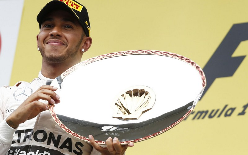 F1: Hamilton secures impressive sixth win at Spa to lead Championship by 28 points