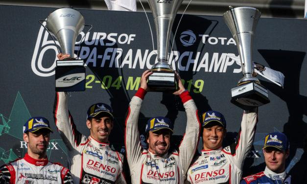 WEC: TOYOTA GAZOO Racing secures the FIA World Endurance Championship at Spa