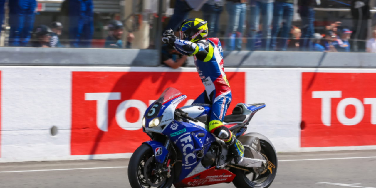 24h Moto: F.C.C TSR Honda France wins the 40th anniversary race