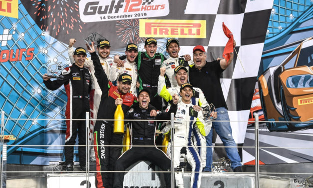 Abu Dhabi: Maiden victory for Attempto Racing Audi at Gulf 12 Hours in Abu Dhabi