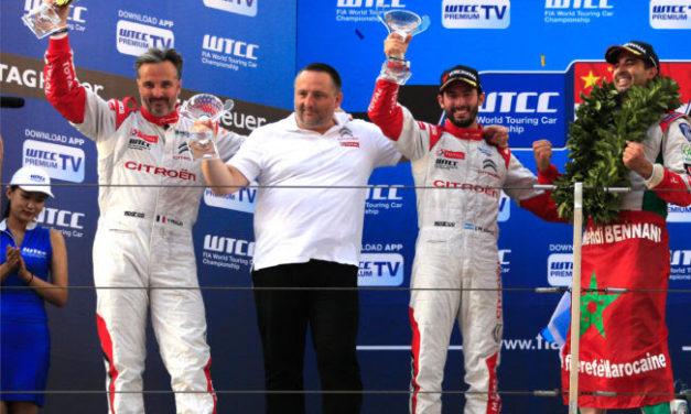 WTCC: CITROËN CELEBRATES FIA WTCC CROWN WITH A TREBLE!