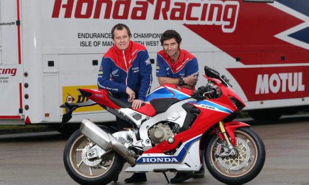 IoMTT: John McGuinness and Guy Martin complete Honda Racing dream team