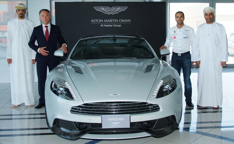 News: Oman's Ahmed Al Harthy appointed as Aston Martin brand ambassador for Middle East and North Africa