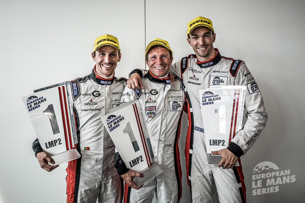ELMS: Maiden win for LMP2 team Jota Sport at Red Bull Ring Spielberg