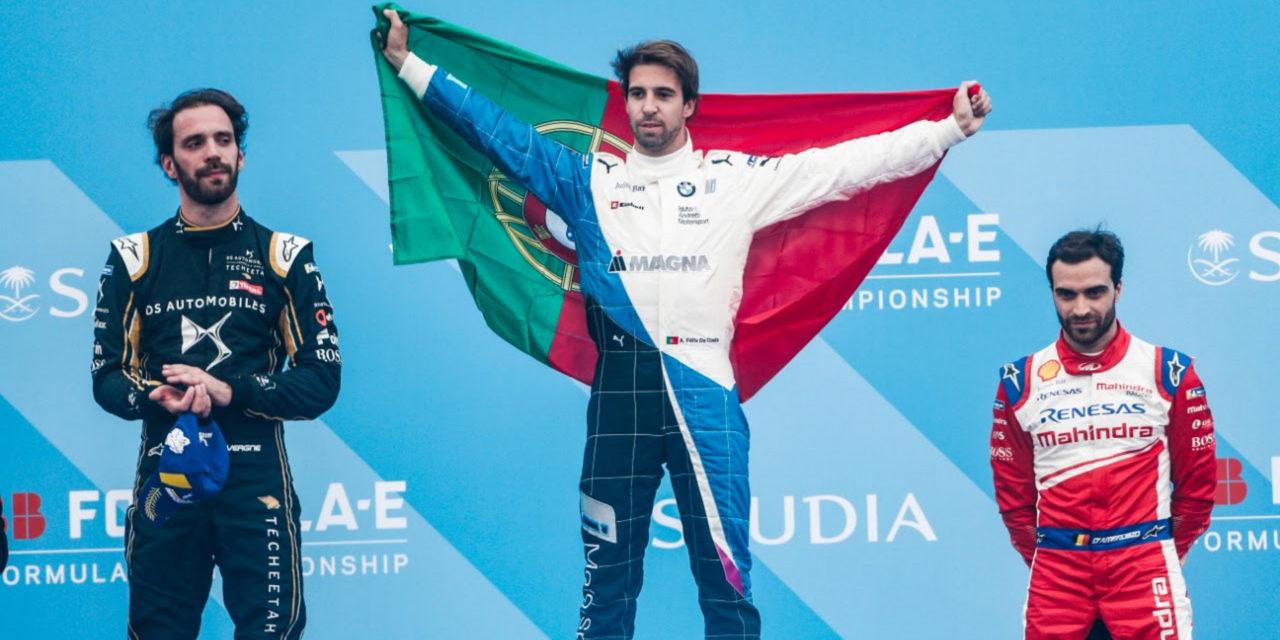 Formula E: Da Costa drives to victory for BMW Andretti Motorsport in Ad Diriyah E-Prix