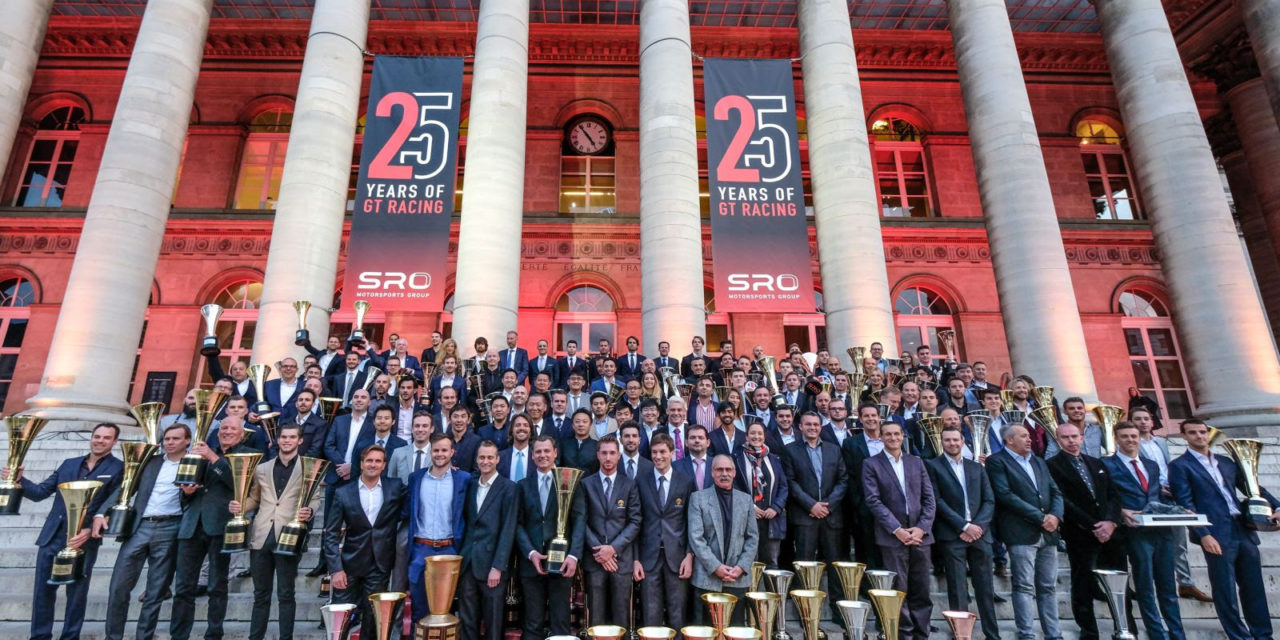 GT: SRO Motorsports Group celebrate 25 Years of GT Racing at Awards ceremony in Paris