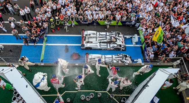 WEC:  Porsche LMP1 take memorable 1-2 home win at 6hrs of Nurburgring