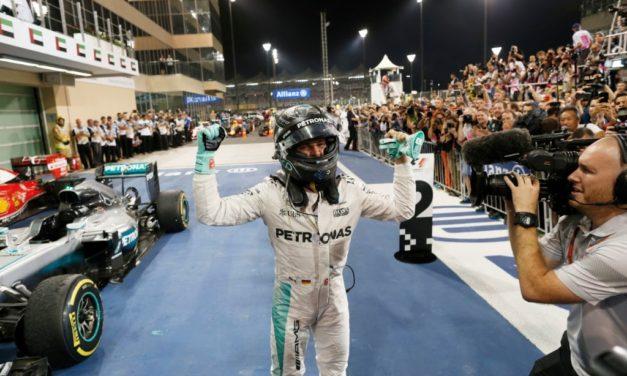 F1: Mercedes AMG driver Nico Rosberg crowned F1 World Champion in Abu Dhabi
