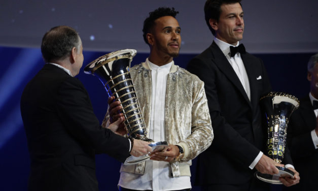 FIA's 2017 Champions of motor sport crowned at Palace of Versailles