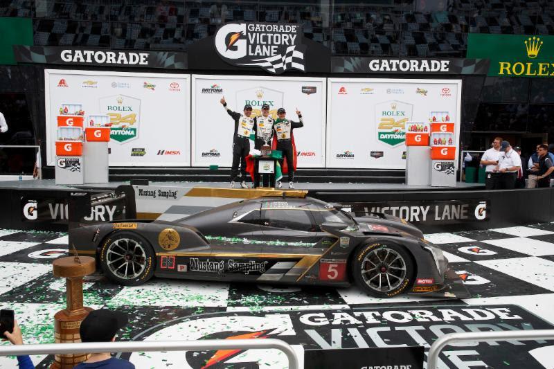 Daytona 24hr: Action Express Cadillac Prototype wins 24hr of Daytona