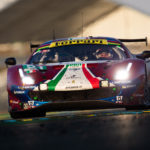 Le Mans: Ferrari and Porsche celebrate GTE success in Le Mans
