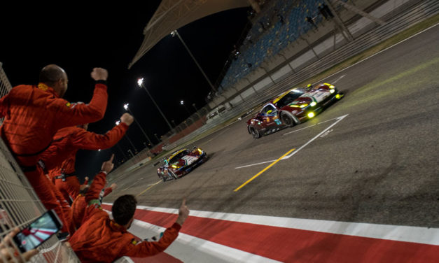 Bahrain: Ferrari duo Calado and Pier Guidi crowned GT Drivers' Champions in LMGTE Pro