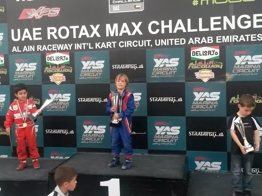 Dubai: Bambino Karting Champion – Up close and personal with Harry & Dan Hannam