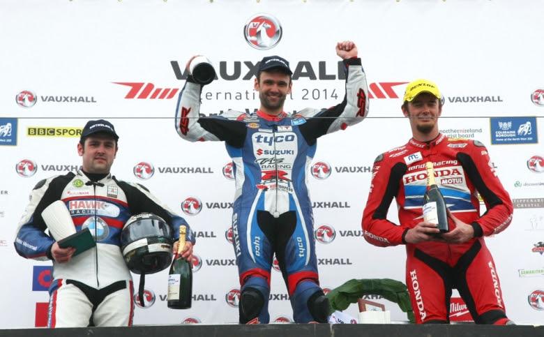 Bikes: Dunlop takes maiden Superbike victory at Northwest 200 with Tyco Suzuki