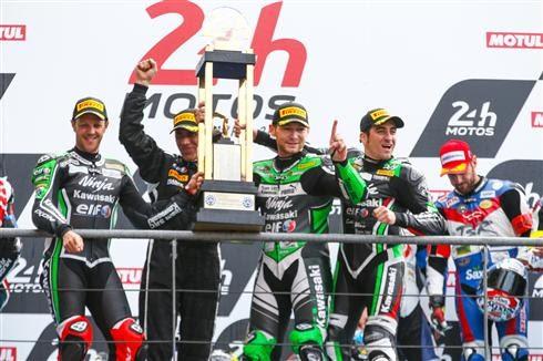 24H Motos: Kawasaki wins the 24 Heures Motos at Le Mans Bugatti circuit