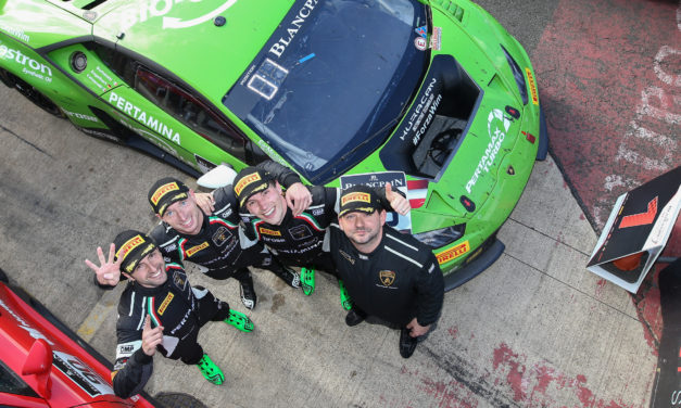 GT: GRT Grasser Racing Team's Lamborghini claims nail-biting 3 Hours of Silverstone