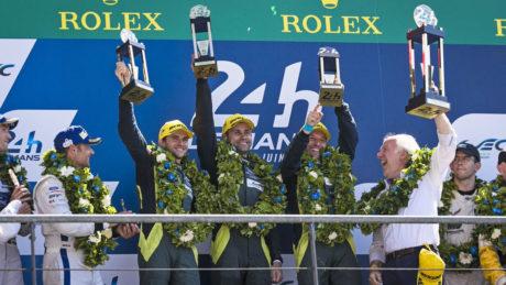 Aston Martin Le mans winners 2017