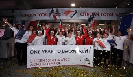 Citroen take the FIA WTCC manufacturers title in Shanghai